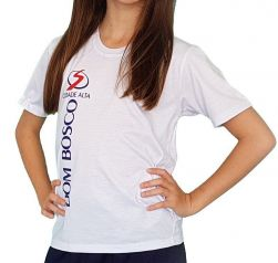 Camiseta 100% Algodão Dom Bosco Cidade Alta